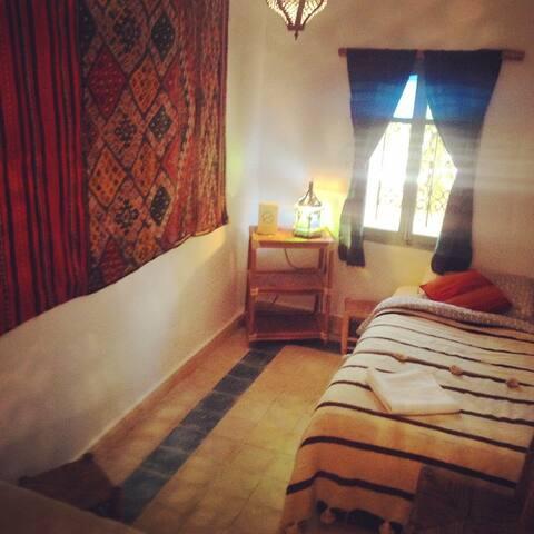 Beautiful Mountain Riad Twin Room - Taghazout N1 - Talo