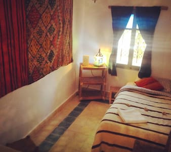 Beautiful Mountain Riad Twin Room - Taghazout N1 - Casa