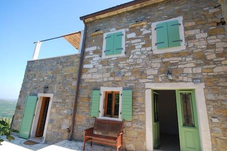 Idyllic village house with amazing view - Merišće