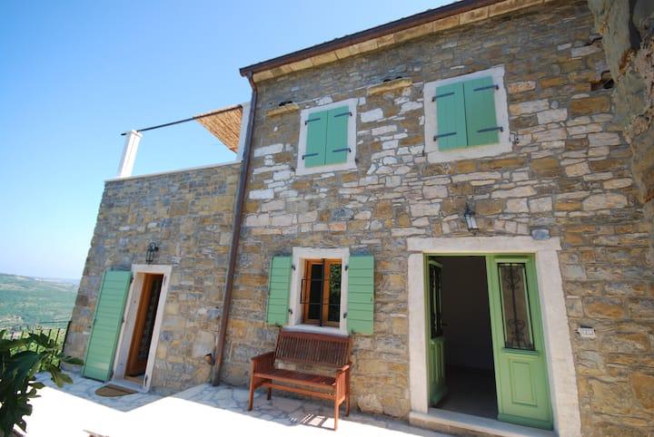 Idyllic village house with amazing view