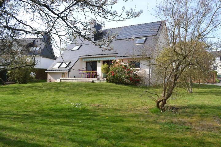 Trois chambres chez Eric et Véro à Quimperlé - Quimperlé - Hus