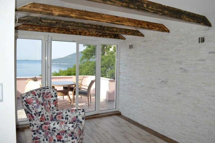 2 bedrooms apartment with sea view - Herceg Novi - Appartement