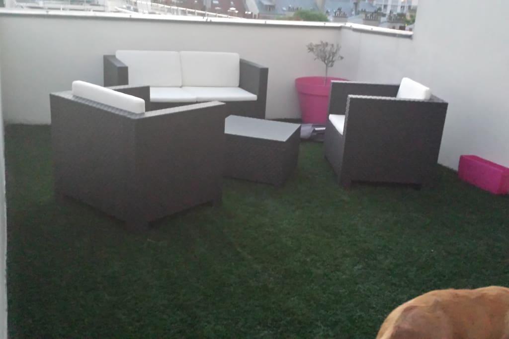 petit salon repos terrasse