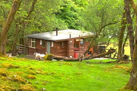 Outer Space Scottish Highland cabin - Balquhidder - Chatka