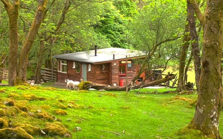 Outer Space Scottish Highland cabin