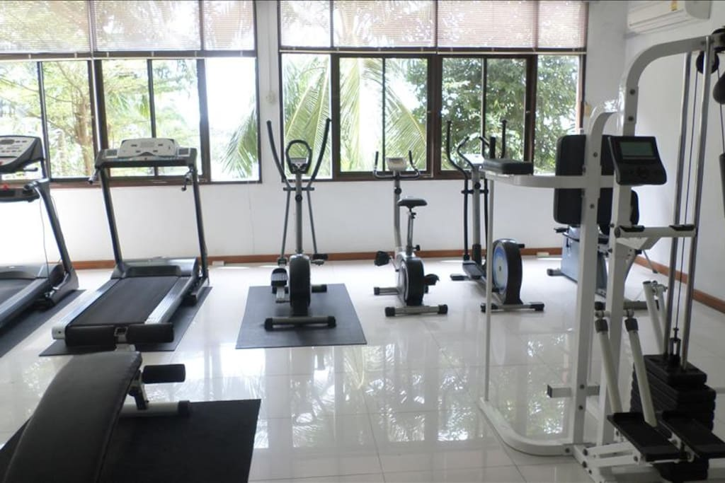 Free Fitness Gym inside complex