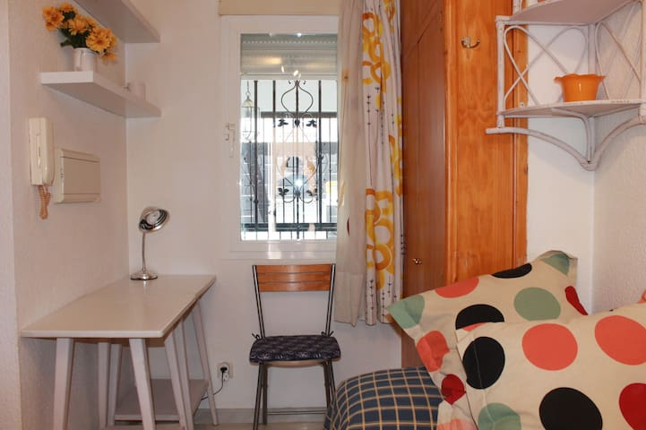 The apartment in central Granada
