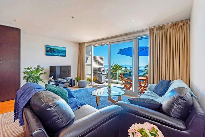 Korora's Nest Apartment - Nelson Waterfront