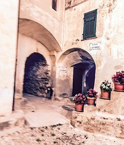 Cosy house borgo antico Torrazza - Imperia - Dům
