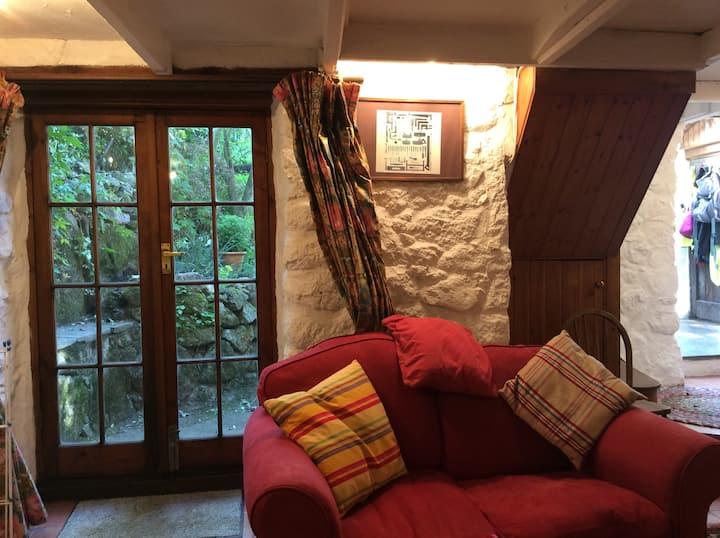 Janes cottage. Old Cornish cottage