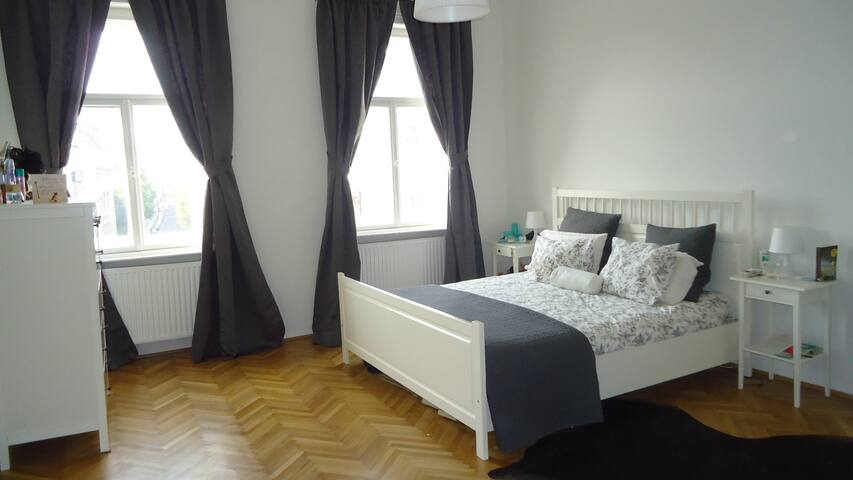 Beautiful, bright double bedroom - Vienna - Rumah