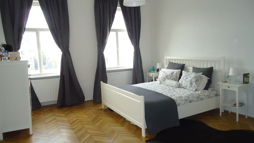 Beautiful, bright double bedroom - Vienne - Maison