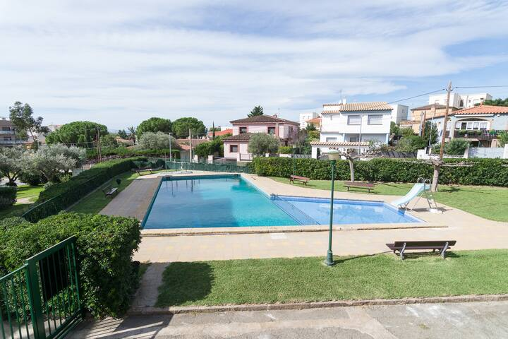 REF 01 Beautiful apartment with sea view in Mas Oliva