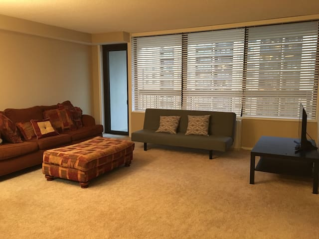 Home away from home! Spacious condo, great view! - Bailey's Crossroads - Osakehuoneisto