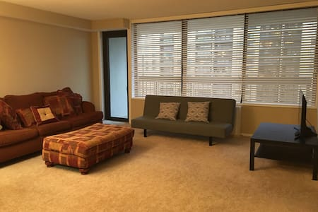 Home away from home! Spacious condo, great view! - Bailey's Crossroads - Wohnung