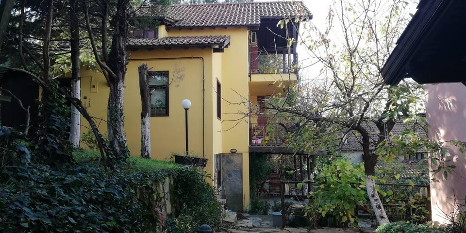 Sapanca'da Bahçeli, Otoparklı, Tripleks Villa