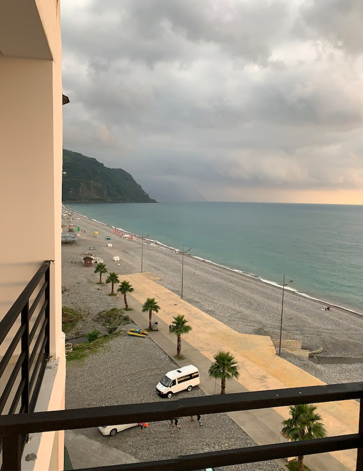 Beachfront Apt In  Gonio