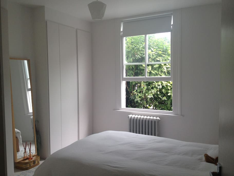 Green view from the bed