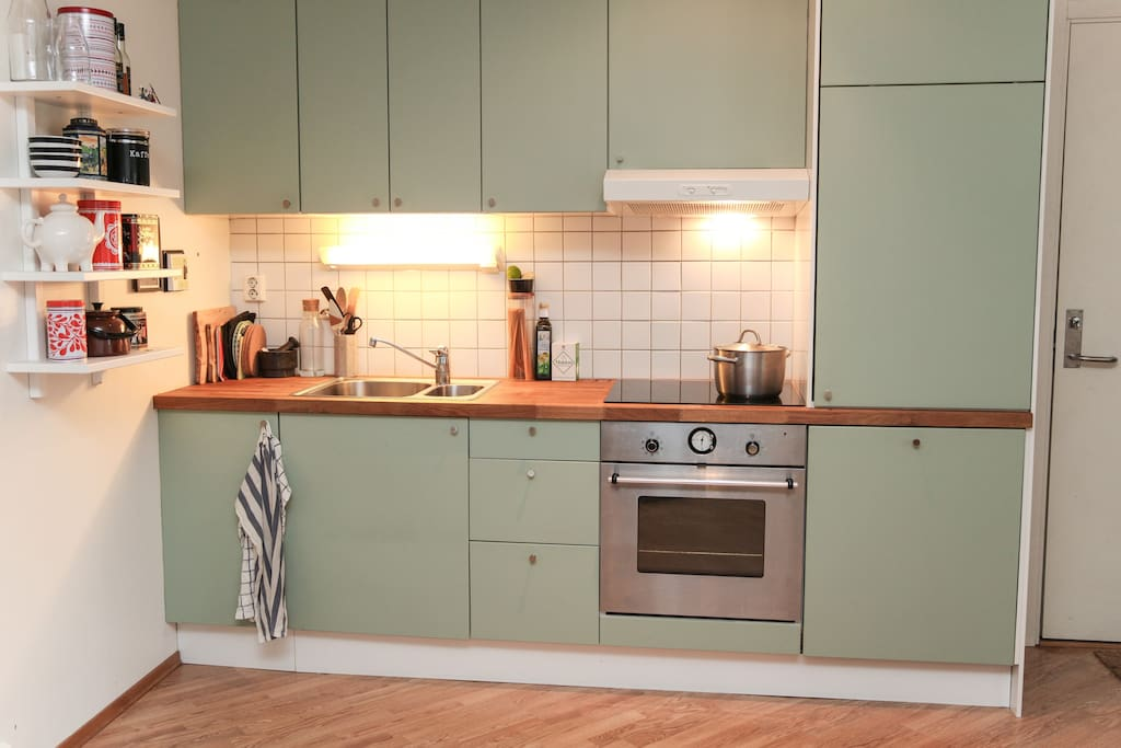 Well equiped kitchen