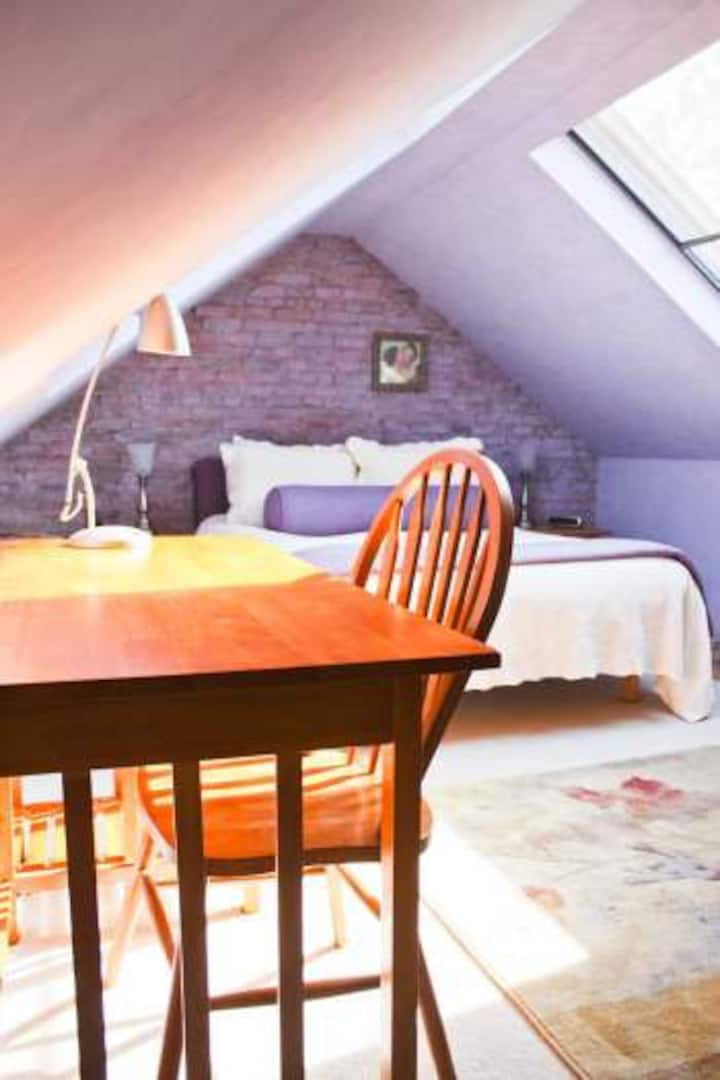 Lavender Attic Suite in B&B