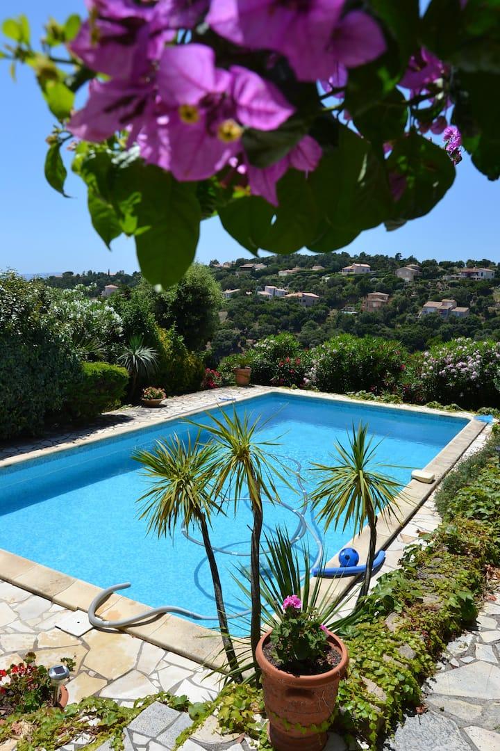 Appart Indépendant ds villa / piscine privée