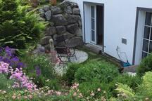 Souterrain-Whg.mit Garten und Sauna