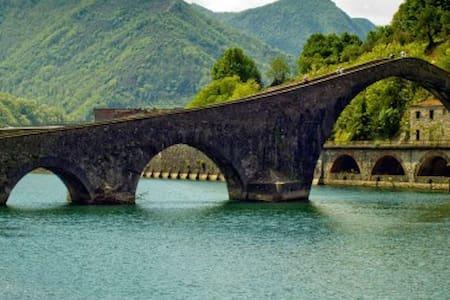 Natura e relax in Garfagnana - Coreglia Antelminelli - Lakás