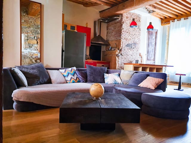 Charming flat in the center of Lyon ( Terreaux)