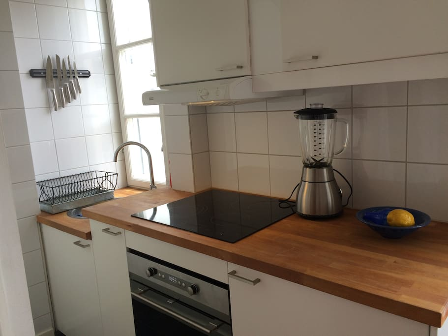 A fully equiped kitchen with all facilities needed