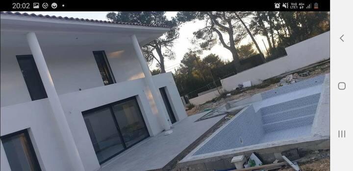 Villa Victoria#3 Suites avec sdb+Wc privé#Piscine
