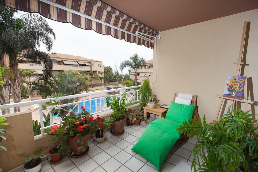 Acogedor y silencioso apartamento, ideal para alejarse del ruido y las prisas.