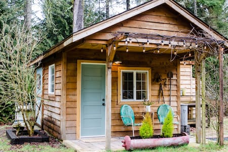 Brand new private studio cottage - Poulsbo - Dom