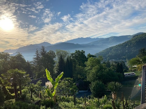Parkfeeling im schönen Malcantone Region Lugano