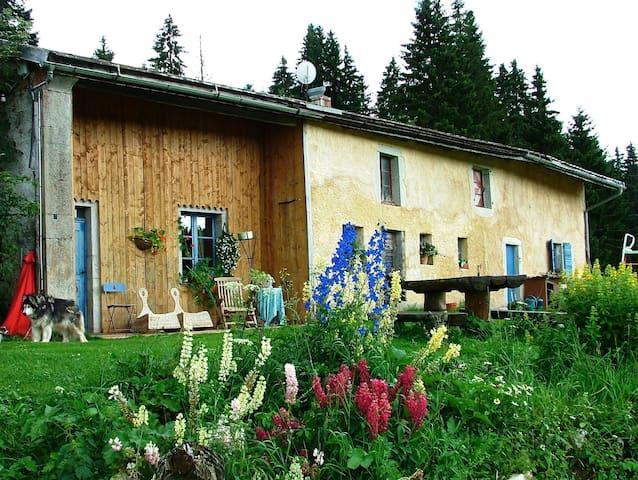 Appartement dans ancienne ferme isolée