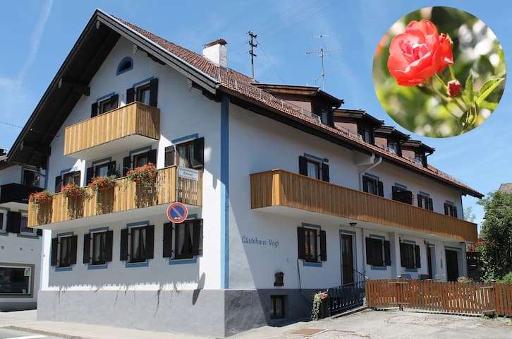 "Apartment ""Rose"" 2 rooms - Bad Kohlgrub - Leilighet"