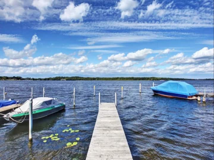 Ferienwohnung mit Seeblick, 50m vom See entfernt
