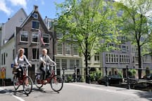 Bikes in action  Foto published in 2015