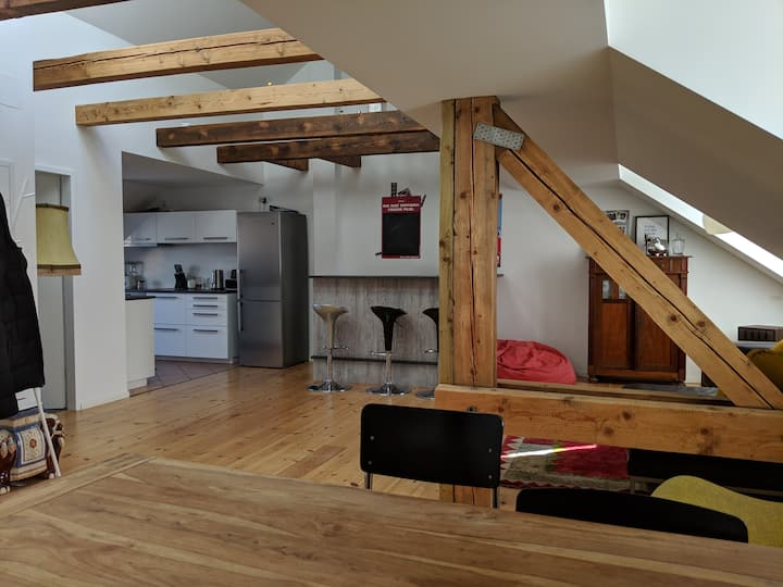 150 m² Loft Apartment in the Heart of Berlin