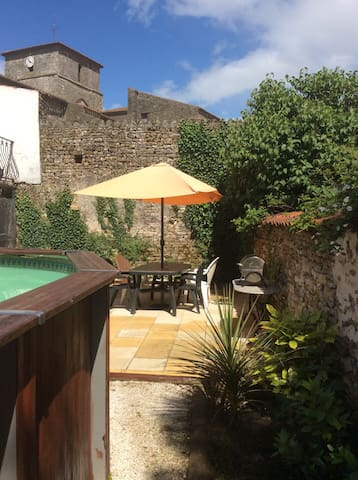 Village house private heated pool - Chantonnay - Dom