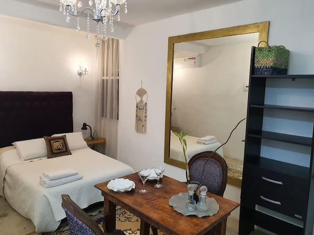 Espectacular Suite elegante, con A/A y Cocina VIP