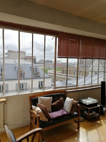 Artist's studio spectacular view - Paris - Apartment