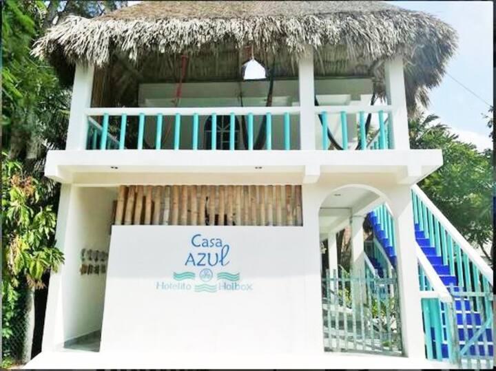 Casa Azul- Hotelito Holbox 4rd room