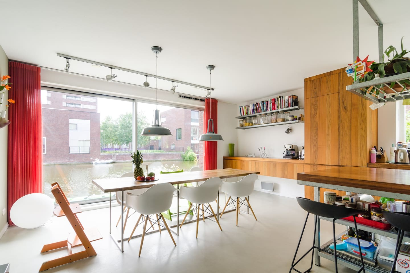Luxery family house amsterdam canal ijburg houses for rent in