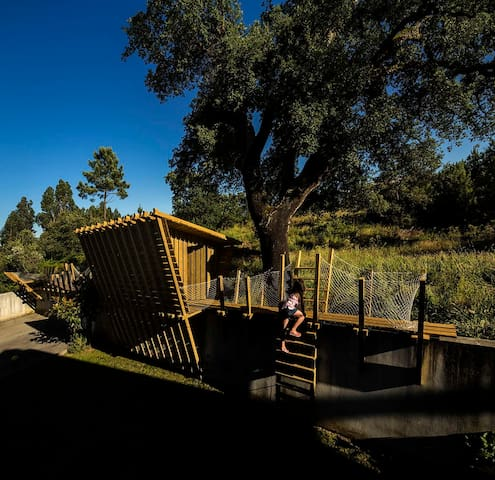 Cabana ambiente familiar e natural - 25 Km Fátima - Albergaria dos Doze - Бунгало