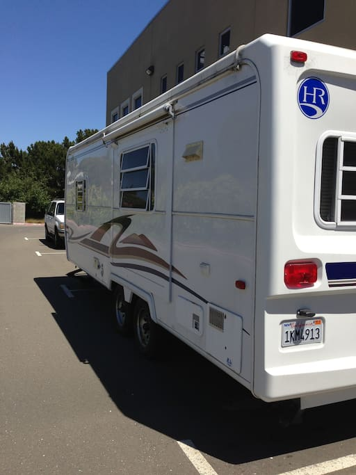 20 ft. long Camper (we deliver to your doorstep)