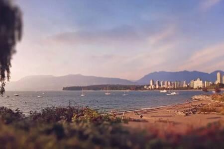 Kitsilano Apartment by the Beach! - Vancouver - Lakás