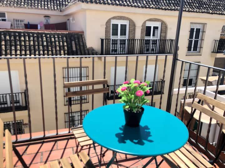 Coqueto ático-duplex en pleno centro de Sevilla