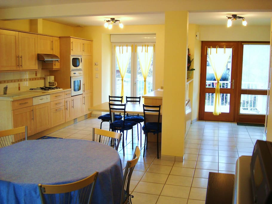 cuisine et hall