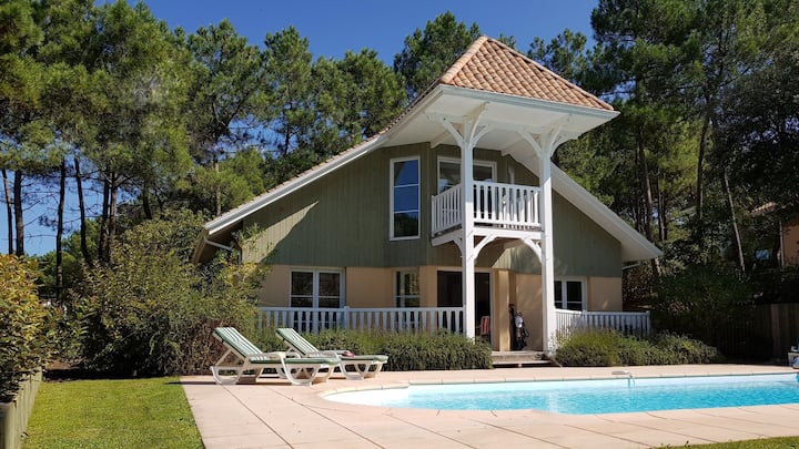 Villa Eden Club n°8 - 3 ch piscine privée chauffée