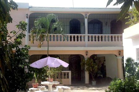 Lg home across America Airport/5 M from BocaChica - Santo Domingo - Hus